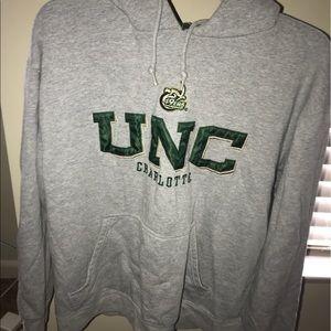 UNC Charlotte grey hoodie